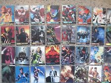 CHASE CARDS Your Pick MARVEL METAL MGH H&V DC Dexter BATMAN Disney Power Rangers