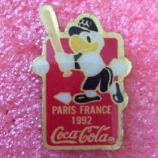 Pins COCA COLA BASEBALL PARIS FRANCE 1992 J.O. Jeux Olympique