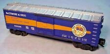LIONEL TRAIN #6464-400 POSTWAR B&O BALTIMORE & OHIO BOXCAR - 1956-57 NICE EX!!