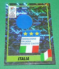 N°164 BADGE ECUSSON WAPPEN ITALIA ITALY ITALIE PANINI FOOTBALL UEFA EURO 2000