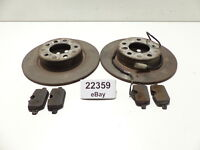 Mini R60 R61 Set Bremsscheiben Reparatursatz Bremsbeläge hinten 9808172 9811540