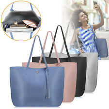Women PU Leather Handbag Shoulder Ladies Purse Messenger Satchel Tote Bag