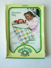 1983 Cabbage Patch Kids Slumber Bag NRFB