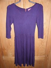 Ness brand new blue polka dot dress, size 8