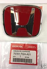 Genuine OEM Honda Civic 5dr Type R Rear H Emblem 2017 Hatchback Red
