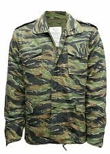M65 US FIELD JACKET QUILTED LINER VINTAGE MILITARY ARMY COMBAT COAT CAMO TIGER