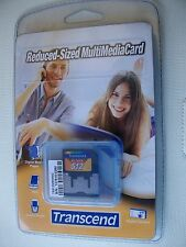 MEMORY CARD-512 MB- TRANSCEND REDUCED SIZED MULTIMEDIA CARD