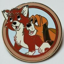 """Disney's Best Friend"" Tod & Cooper (#90186) Released May 2012 Mystery Pin"