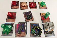 Bakugan Battle Brawlers, 11 Transforming Figures & Matching Cards, set 2