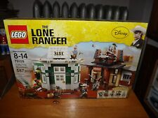 LEGO, THE LONE RANGER, COLBY CITY SHOWDOWN, KIT #79109, 587 PIECES, NIB, 2013