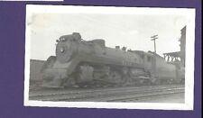 Canadian Pacific CPR Steam Locomotive 2-8-2 #5436 Vintage B&W Railroad Photo