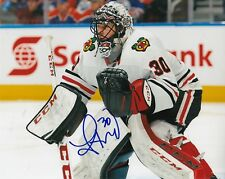 JEFF GLASS signed (CHICAGO BLACKHAWKS) autograph HOCKEY 8X10 photo W/COA #2