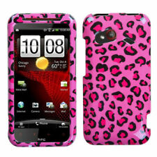 MYBAT Pink Leopard Skin Protector Cover for HTC INCREDIBLE 4G LTE ADR6410