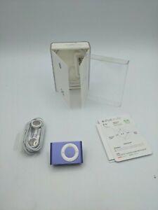 Apple iPod shuffle 2nd Generation  PURPLE (1 GB) OPEN BOX