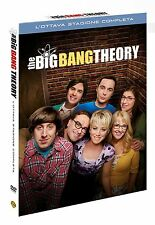 THE BIG BANG THEORY - STAGIONE 8 (3 DVD) COFANETTO SERIE TV Warner Home Video