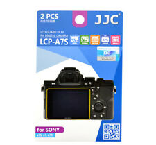 JJC LCP-A7 LCD Screen Guard Protector PET Film For Sony A7II A7SII A7RII 2pcs