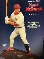 Danbury Mint Baseball Mark McGwire St Louis Cardinals Player Figure Sculpture