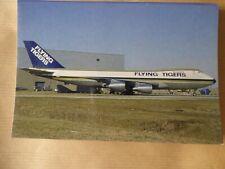 FLYING TIGER  B 747-245F   N812FT /  COLLECTION VILAIN N° 302