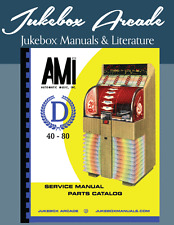 New! Ami Model D-40, D-80 Service Manual, Parts Catalog with Troubleshooting