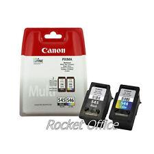 Genuine Canon PG545 Black & CL546 Colour Ink Cartridge For PIXMA MG2550 Printer
