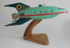 Futurama Planet Express Ship Spacecraft Handcrafted Wood Model Regular New