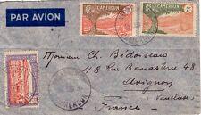 CAMEROUN - NKONGSAMB'A LE 15-6-1939 - BEL AFFRANCHISSEMENT POUR LA FRANCE..