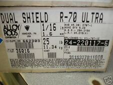 "Esab Dualsheild R-70 Ultra 1/16"" 25# Alloy Rods $92"
