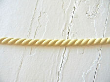 MOULDING SMALL ROPE * WOOD & RESIN * 8 FEET * FLEXIBLE * STAINABLE