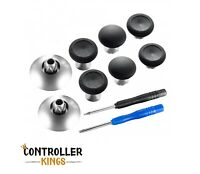 PS4/Xbox One/Elite Controller Pro Rubberised Grip Magnetic Thumbsticks Black