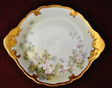Limoges Bowl With Heavy Gold Trimmed at Rim and Handles