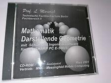 Software CD - Mathematik und darstellende Geometrie - für Sharp PC E-500