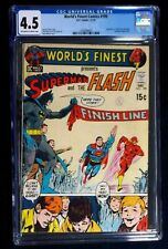 World's Finest Comics #199 CGC 4.5 Superman Flash Race Concludes