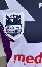 Team Signed Melbourne Storm Player Jersey 2007 Grand Final Issue qld origin