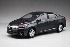 New in Boxed 1:18 Diecast Car Model TOYOTA Corolla 2014 Black