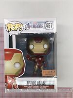 Funko Pop! Marvel Iron Man 467 Avengers: Endgame BoxLunch Exc NOT MINT BOX N05
