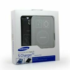 Genuine New Samsung Galaxy Note 3 S Charger Kit (Wireless Charging Pad + Cover)
