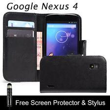 Étuis, housses et coques noirs Pour LG Nexus 4 pour téléphone mobile et assistant personnel (PDA) LG