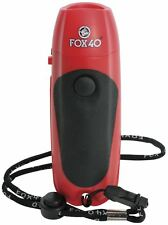 Fox 40 Electronic Whistle Football Soccer Basketball Referee Coach Sport Whistle