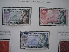 Monaco Stamps 1953 Anaphylaxis MH