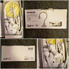 "Ikea Jansjo Flexible White Desk Table Study LED Goose Neck Lamp: Design A; 24"""