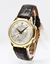 Jaeger-LeCoultre Ipsovox 750er Gold Uhr sehr seltenes Sammlerstück Weckfunktion
