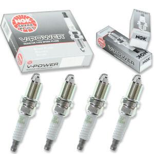 4 pcs NGK V-Power Spark Plugs for 2008-2009 Saturn Astra 1.8L L4 - Engine iq