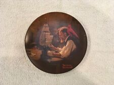"""The Ship Builder� Norman Rockwell Collectors Plate"