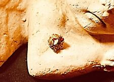 Orig. Pandora Charm / Spacer, 5 grüne Turmaline, 14 Karat Gold