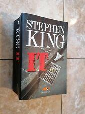 Libro cop flessibile It Stephen King edizione  pickwick horror