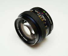 Lovely Konica Hexanon AR 50mm f/1.4 fast prime lens a7 m4/3 mirrorless adaptable