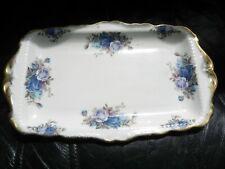 Royal Albert sandwich plate 'Moonlight rose'