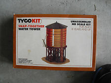 Vintage HO Scale Tyco Water Tower Kit in Box 7769