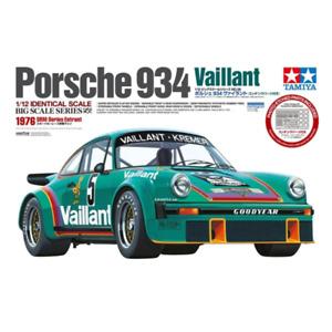Tamiya 12056 1/12 Porsche 934 Vaillant Plastic Model Kit Brand New