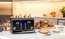 4-Slice Stainless Steel Toaster KRUPS KH734D50 Breakfast Brushed Chrome Silver